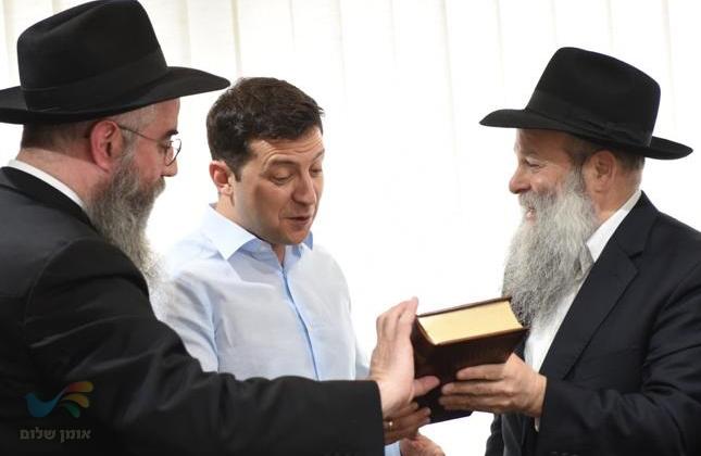נשיא אוקראינה היהודי מגיש הצעת חוק שיכיר את ראש השנה היהודי כחג לאומי