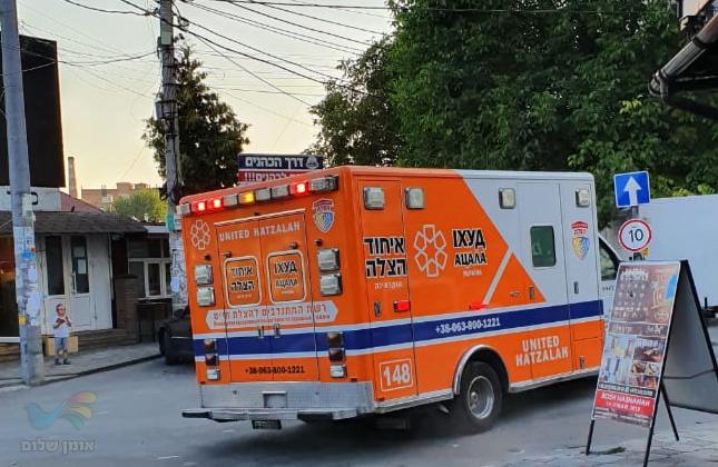 חסיד ברסלב נדקר על ידי מספר צעירים מקומיים סמוך לציון רבינו הק' באומן