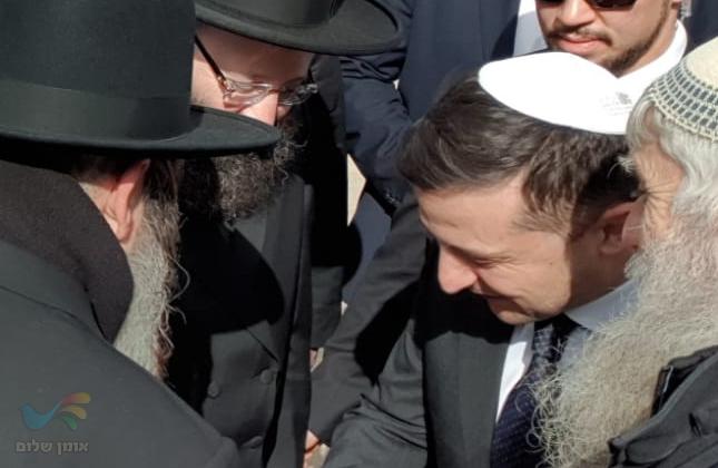 רבנים מכל העולם התפללו לרפואתו של נשיא אוקראינה היהודי שחלה בקורונה