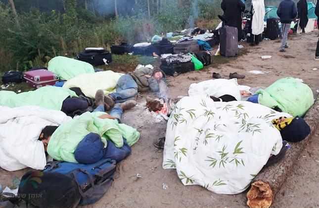 היום השלישי בגבול לאחר לילה נוסף בתנאים תת אנושיים ואין פוצה פה ומצפצף