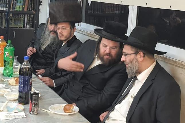 """אורח הכבוד של ישיבת 'קה אכסוף', רבה של פינסק בבלארוס רבי משה פימה שליט""""א"""